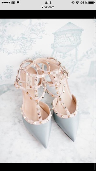 shoes sandals cute shoes high heels cute high heels sandal heels high heel sandals girly grey grey heels wedding wedding shoes dress shoes dress heels studded shoes pointed toe pumps pointed toe d'orsay pumps