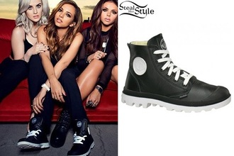 shoes black palladium little mix
