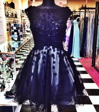 dress prom dress black lace dress little black dress lace dress floral lace prom night