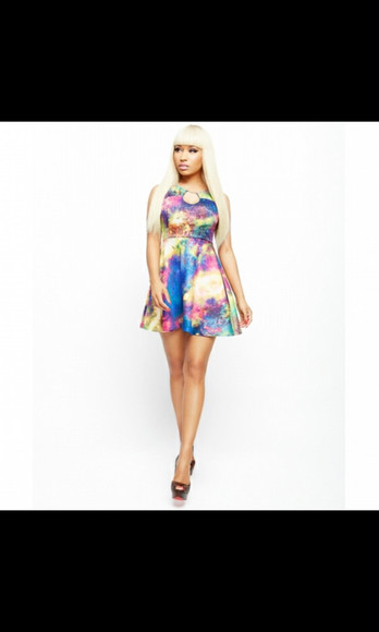 galaxy dress nicki minaj