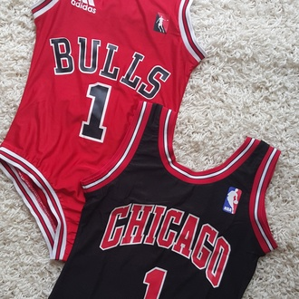 swimwear adidas one piece chigago bulls chicago chicago bulls red bodysuit