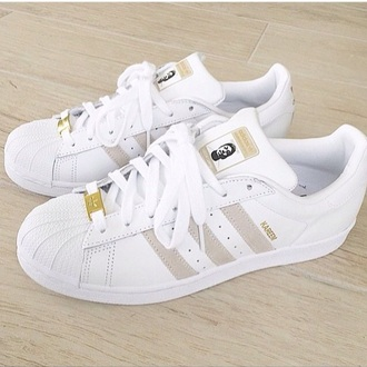 shoes home accessory low top sneakers pharrell williams adidas superstar gold beige adidas supercolor tumblr tumblr outfit tumblr clothes adidas shoes adidas superstars white adidas originals white shoes gold shoes adidas supercolor yellow sneakers cute aw2015 fall outfits style trendy fall trend grey tan addias shoes