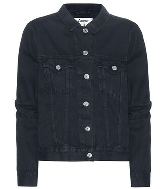 jacket denim jacket denim black