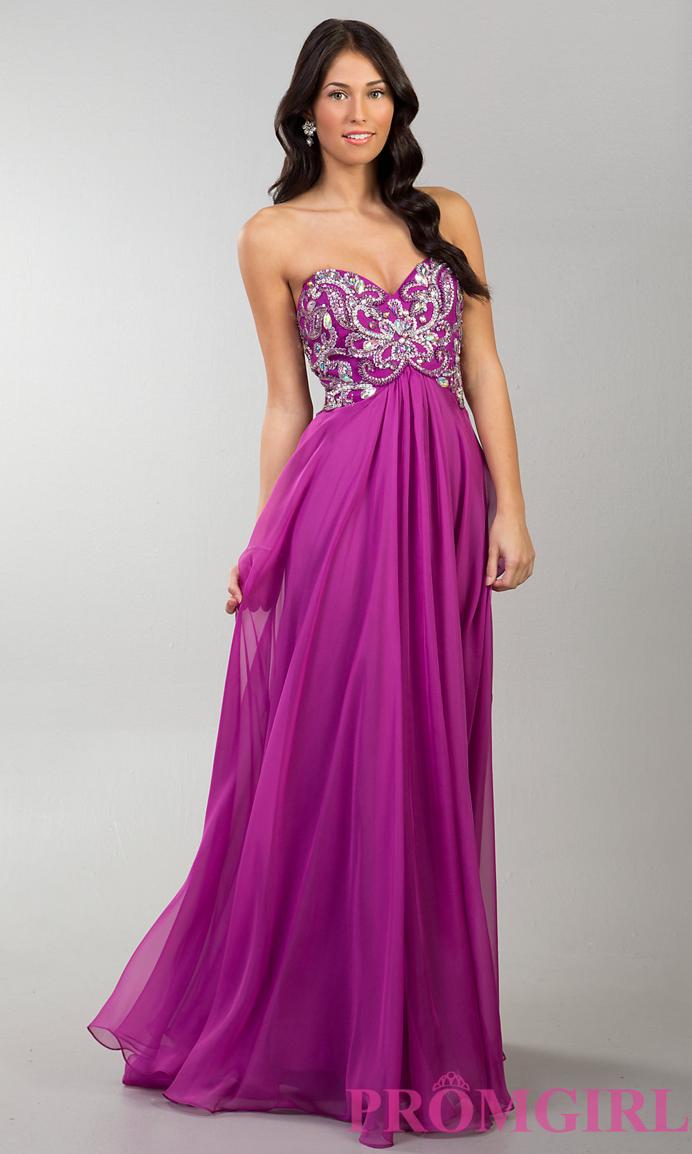 Elegant Long Prom Dress by Dave and Johnny 9922
