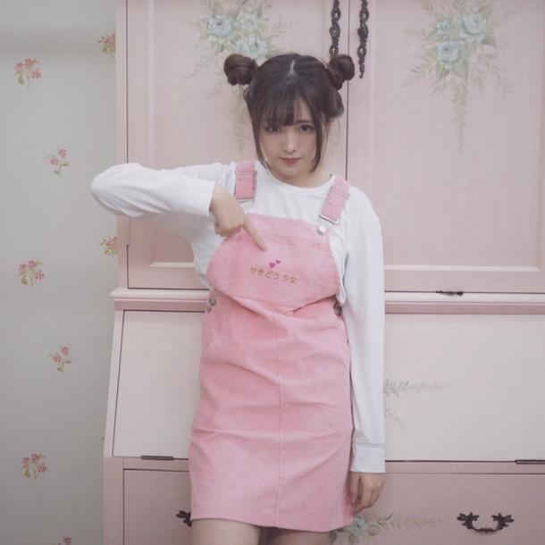 Brown Korean Dress