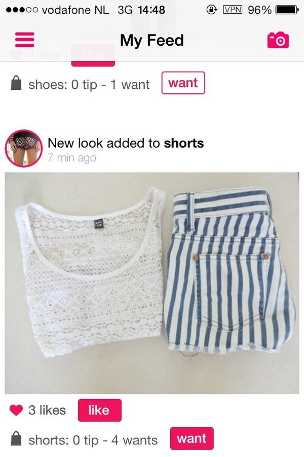 shirt crop tops shorts