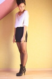 coline,skirt,blouse