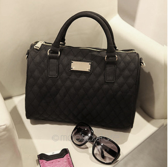 bag black mango leather beautiful bags