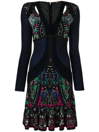 dress women scalloped paisley