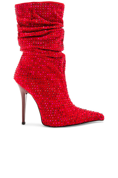 Jeffrey Campbell boot red shoes