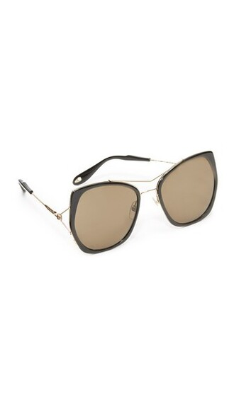 arrow sunglasses aviator sunglasses gold black brown