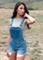 Classic denim overall shorts – desert rose apparel