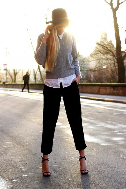 fanny staaf sweater pants shoes