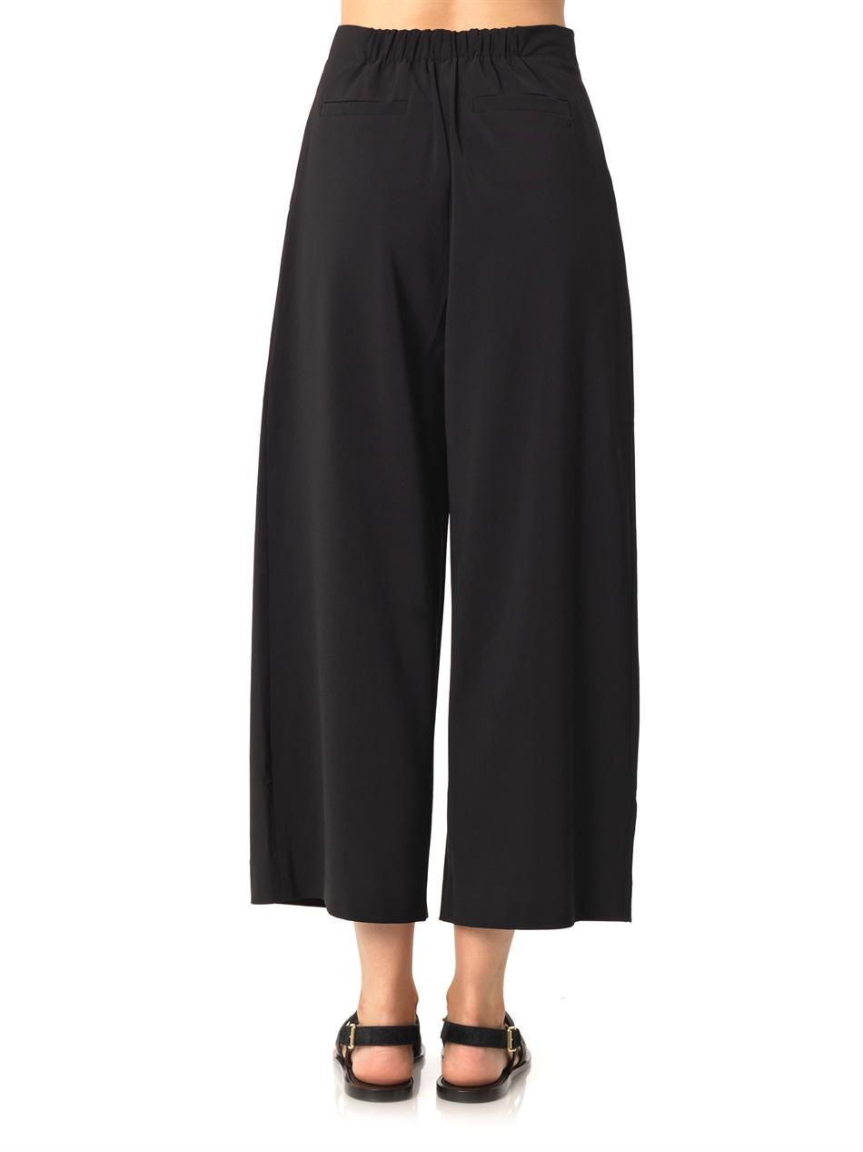 Trenton wide-leg cropped trouers | Elizabeth and James | MATCH...
