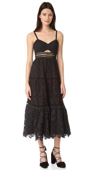dress lace dress sleeveless lace black