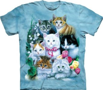 Amazon.com: The Mountain Kittens T-Shirt: Clothing