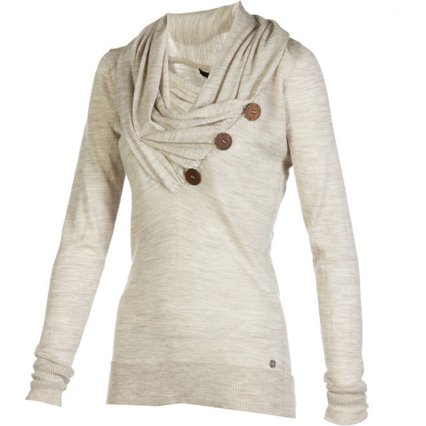 cream buttons foldover top blouse shirt top sweater knitted sweater knit item pretty cute top sweater with button sweater