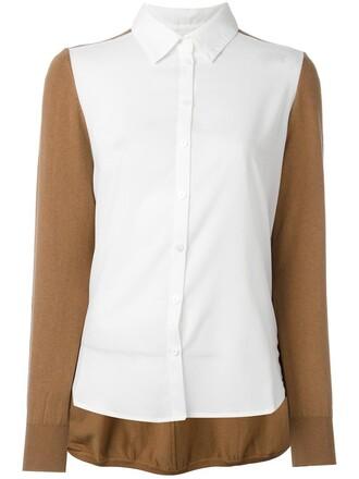 jumper women spandex cotton brown sweater