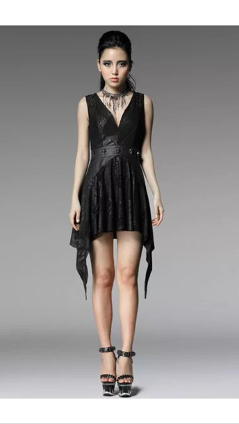 Dress Black Skull Lace Wheretoget