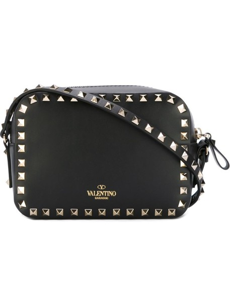 Valentino mini women bag shoulder bag black
