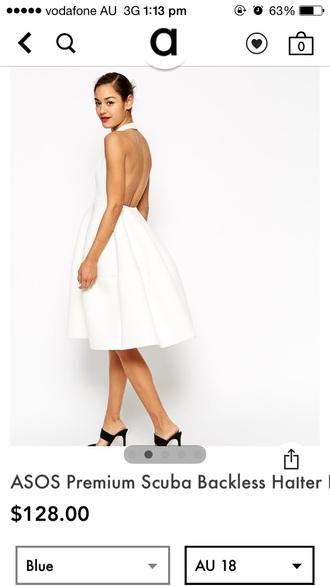 dress backless