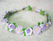 hair accessory,flower crown,accessories,women,headband,headpiece,fashion,rose,gift ideas,birthday gifts for her,party,wedding,summer,teen girls,flower paper,flower headband,flower headpiece,style,teen girl