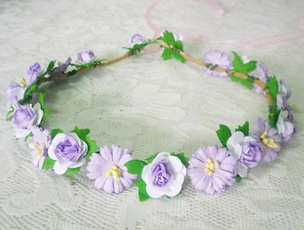 Hair Accessory Flower Crown Accessories Women Headband Headpiece Fashion Rose Gift Ideas Birthday Gifts For Her
