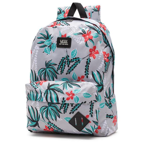 65c89b850ad bag, backpack, school bag, school bag, vans backpack, floral, floral ...