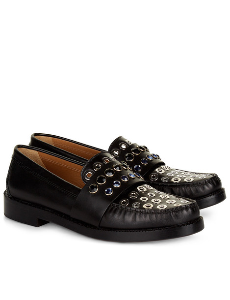 Sonia Rykiel embellished loafers black
