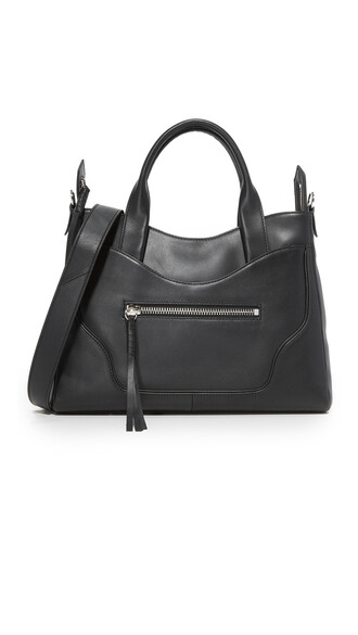 satchel black bag