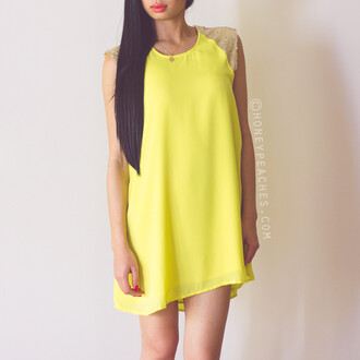 yellow summer dress dress yellow dress flowy dress shift dress summer outfits