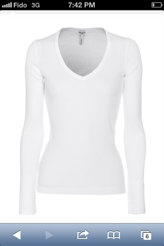 shirt essentials vneck cotton tight casual shirt