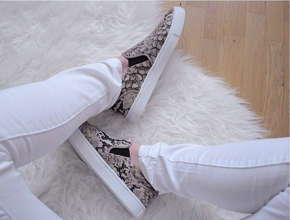 shoes snake print crocodile print