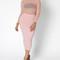 Blush pink sheer spotlight bodysuit