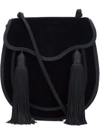 tassel bag black