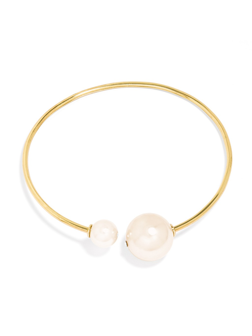 Jumbo Pearl Ring Collar