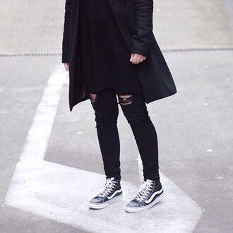 coat blvck blvck scvle menswear black street class shoes jeans black jeans jacket
