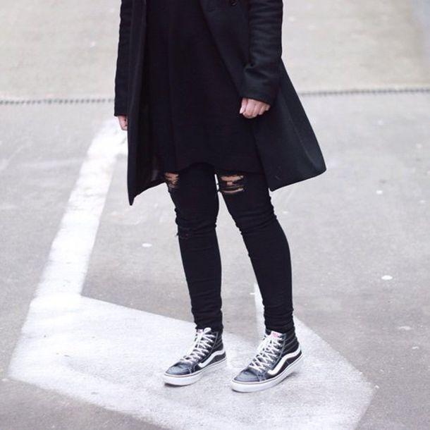 Coat Blvck Blvck Scvle Menswear Black Street Class Shoes