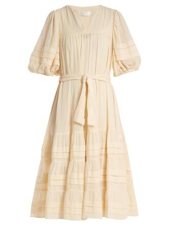 dress cotton beige