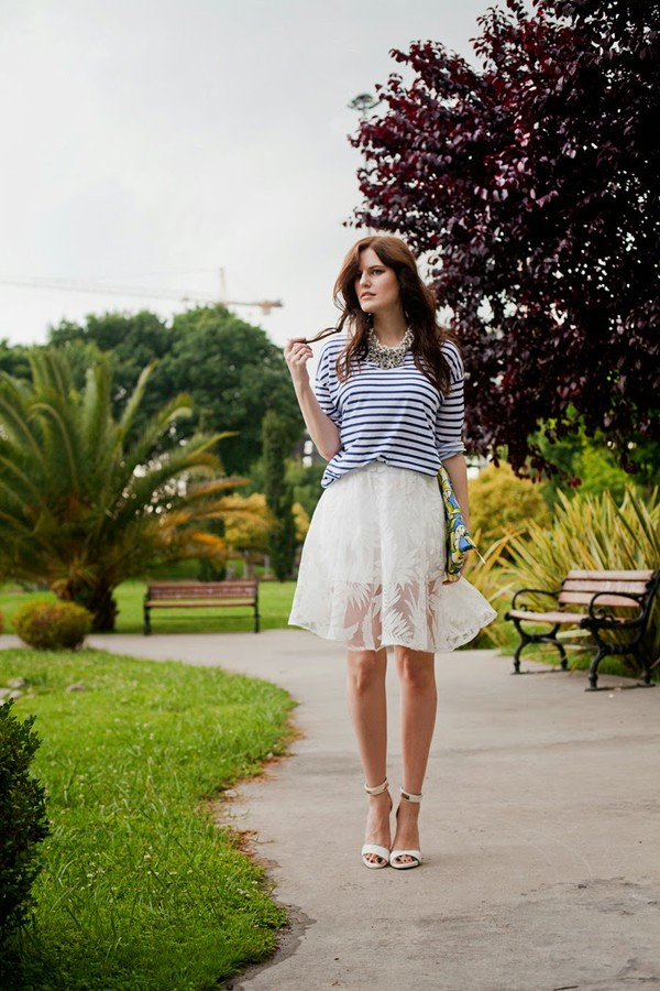 the bow-tie skirt t-shirt jewels bag shoes sunglasses
