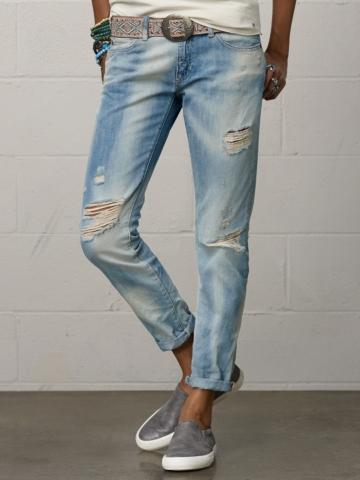 Calera Skinny Boyfriend Jean - Straight-Leg  Denim - RalphLauren.com