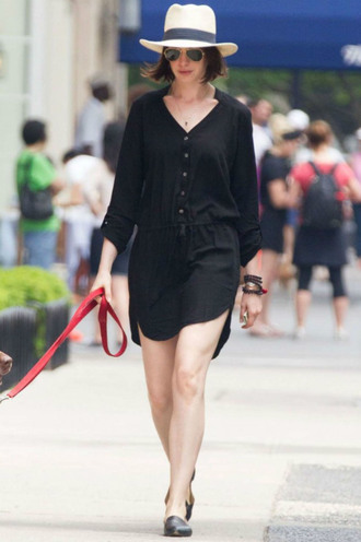 dress shirt shirt dress anne hathaway