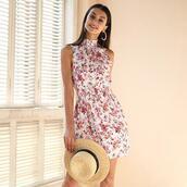 dress,flower skirt,girly dress,girly outfits tumblr,flowers,trendy,trending dress,fashion,fashion week