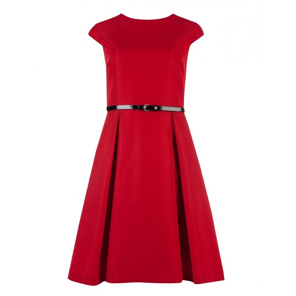 Ted Baker Ted Baker LADI - Full skirt belted dress - Polyvore