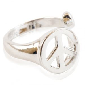 Bague rétro Peace and Love, Namkha  - Achat / Vente BAGUE - CHEVALIERE Bague rétro Peace and Love,… - Cdiscount