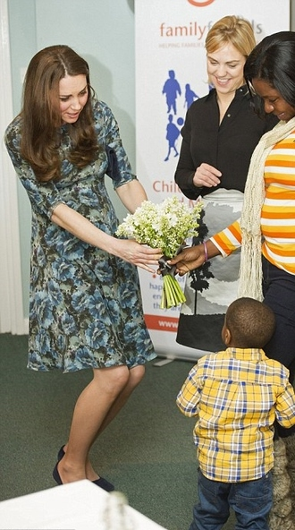 dress floral kate middleton