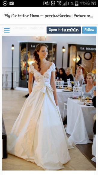 wedding dress in love!!