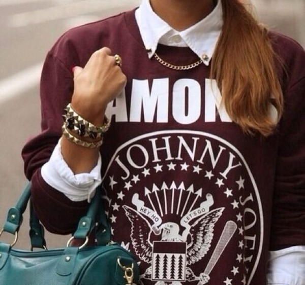 sweater burgundy winter sweater