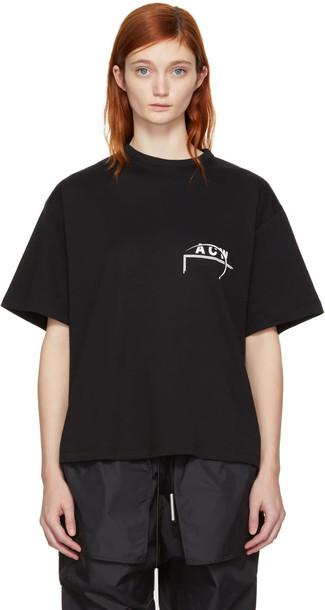 A-cold-wall* t-shirt shirt t-shirt black top