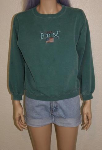 sweater bum 90's vintage
